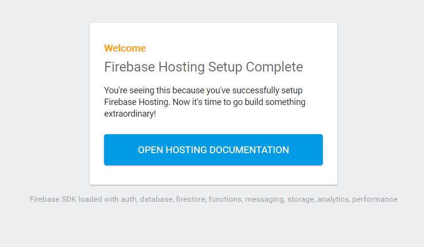 FirebaseHostingSetupComplete